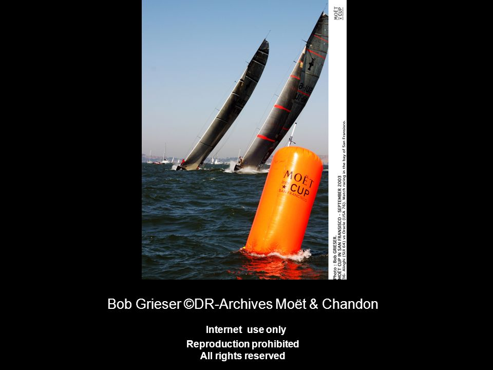 Bob Grieser ©DR-Archives Moët & Chandon Internet use only Reproduction prohibited All rights reserved