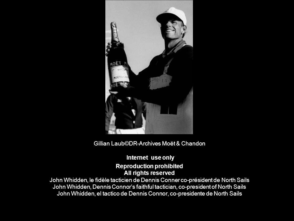 Gillian Laub©DR-Archives Moët & Chandon Internet use only Reproduction prohibited All rights reserved John Whidden, le fidèle tacticien de Dennis Conn