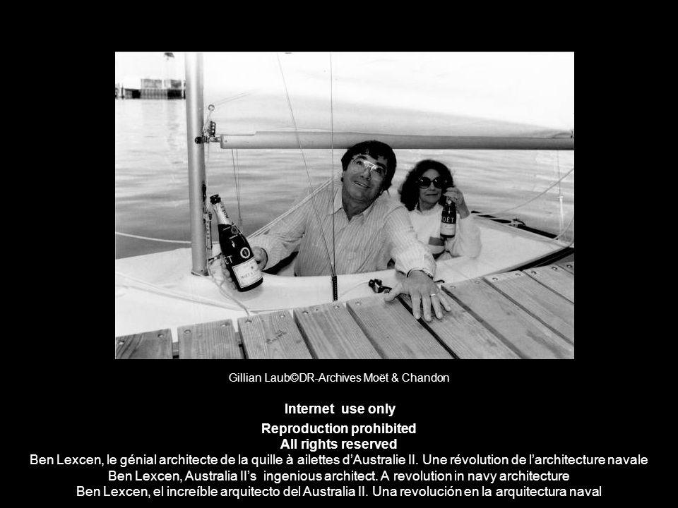 Gillian Laub©DR-Archives Moët & Chandon Internet use only Reproduction prohibited All rights reserved Ben Lexcen, le génial architecte de la quille à
