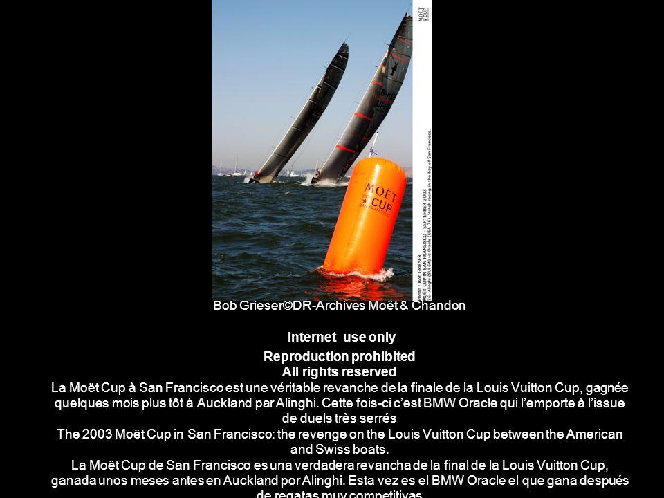 Bob Grieser©DR-Archives Moët & Chandon Internet use only Reproduction prohibited All rights reserved La Moët Cup à San Francisco est une véritable rev