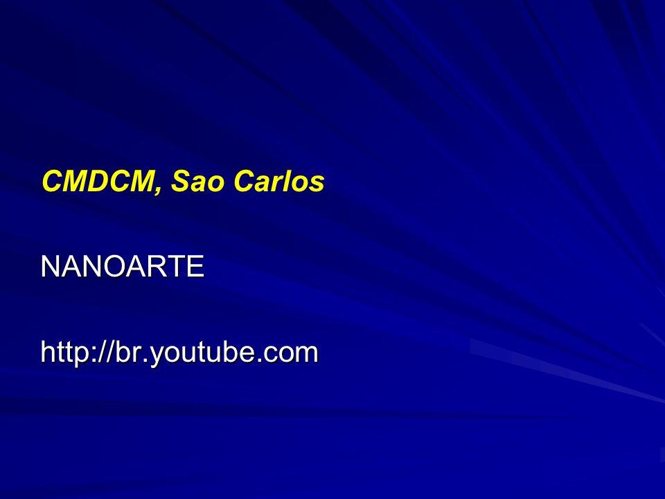 CMDCM, Sao CarlosNANOARTEhttp://br.youtube.com