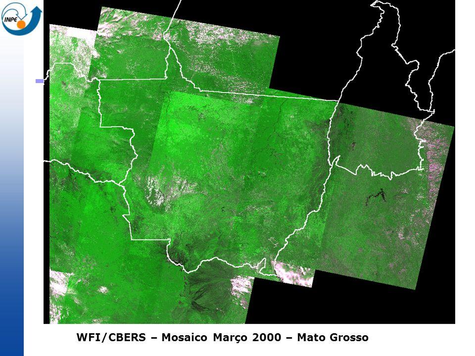 WFI/CBERS – Mosaico Março 2000 – Mato Grosso