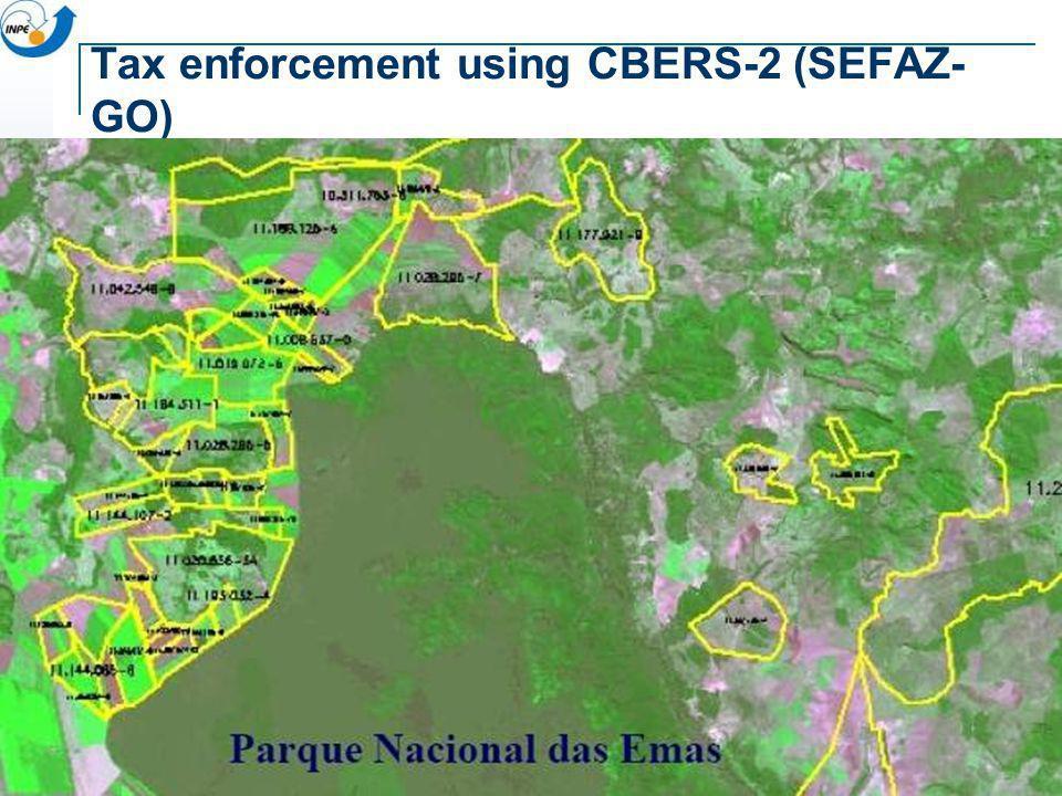 Tax enforcement using CBERS-2 (SEFAZ- GO)