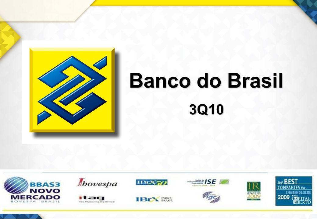 1 Banco do Brasil 3Q10