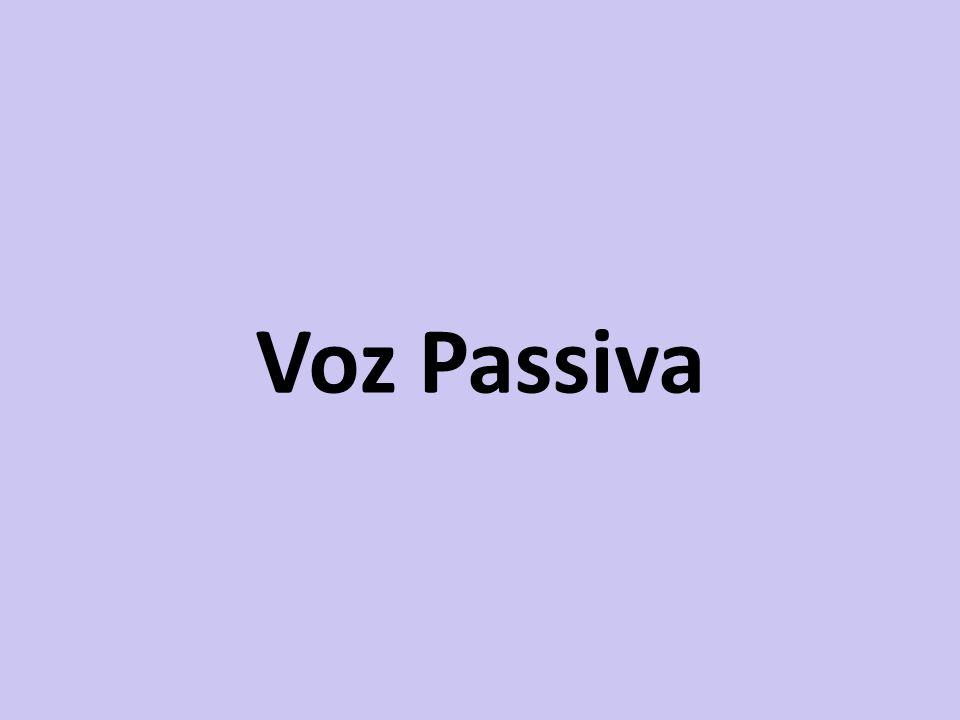 Voz Passiva