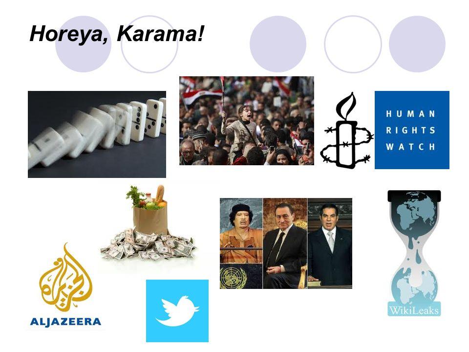 Horeya, Karama!