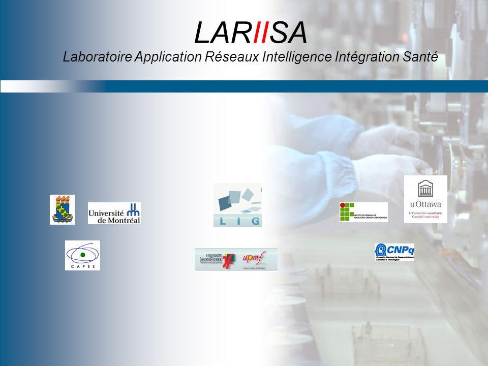 LARIISA Laboratoire Application Réseaux Intelligence Intégration Santé