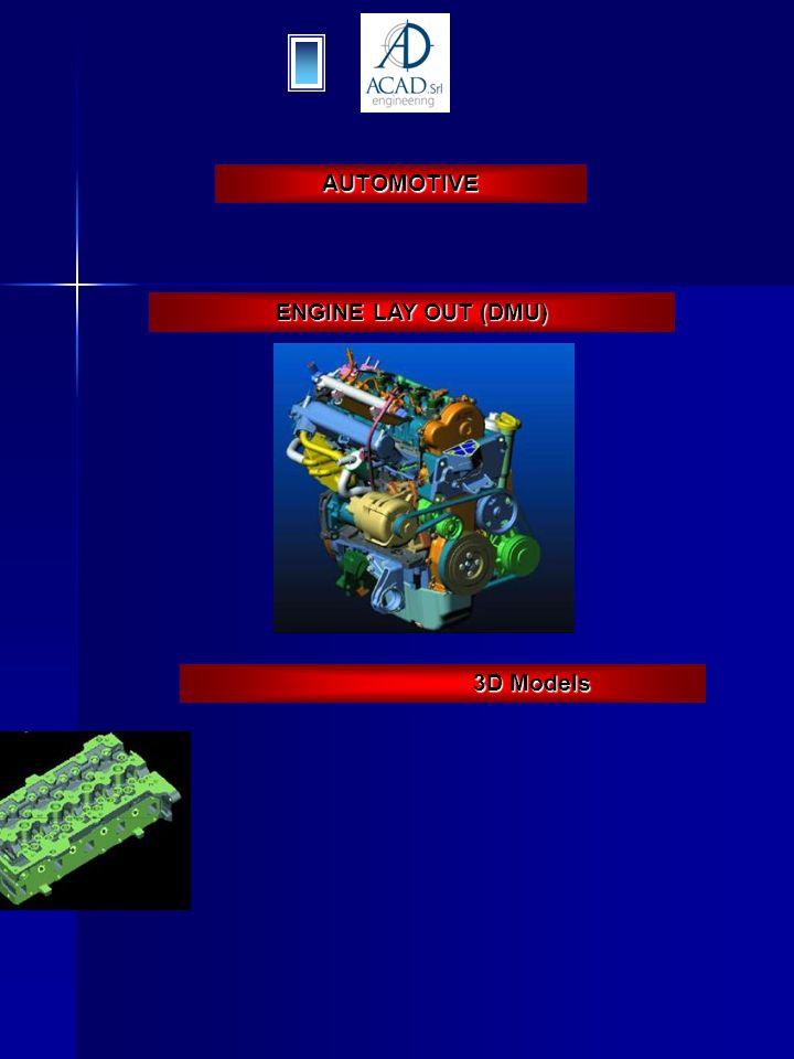 AUTOMOTIVE ENGINE LAY OUT (DMU) 3D Models 3D Models