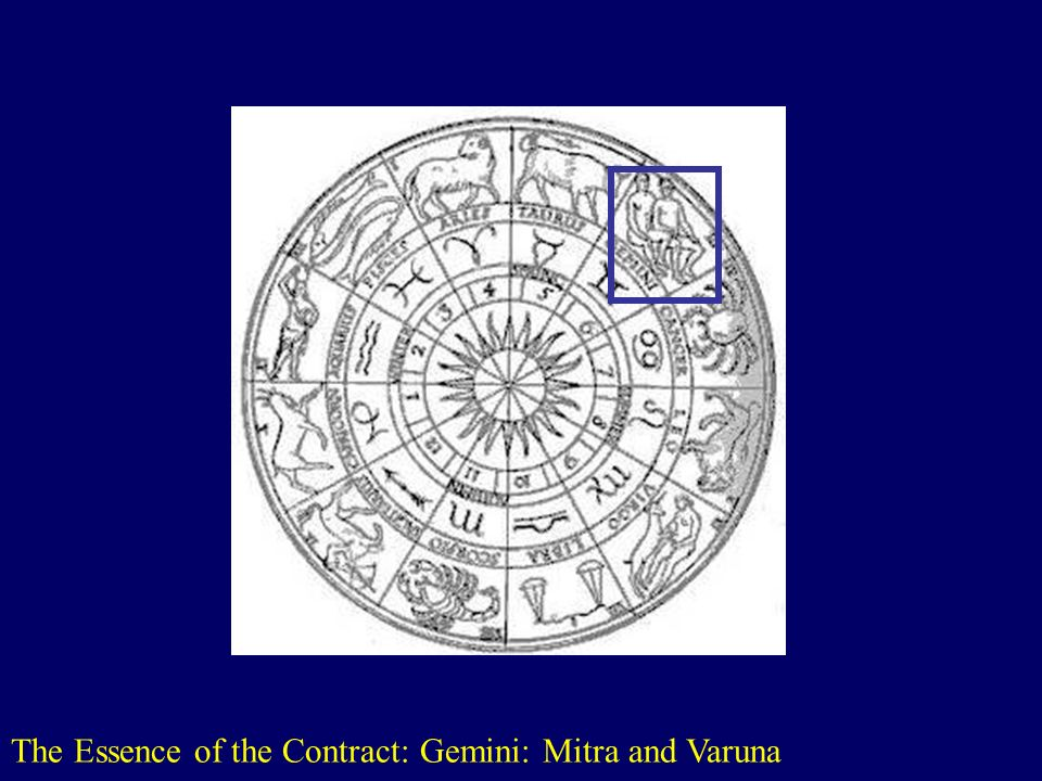 The Essence of the Contract: Gemini: Mitra and Varuna http://www.astralis-horoscopes.com/Zodiac wheel.jpg