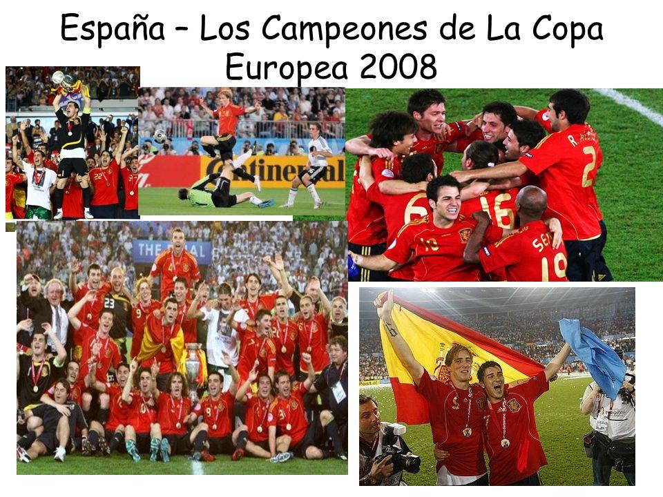 España – Los Campeones de La Copa Europea 2008