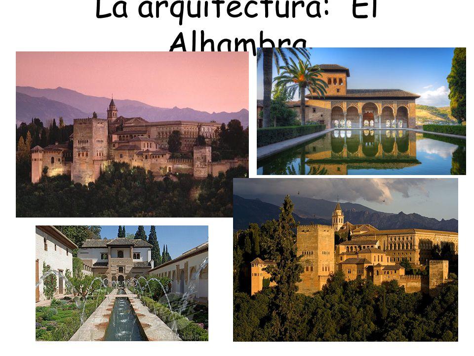 La arquitectura: El Alhambra