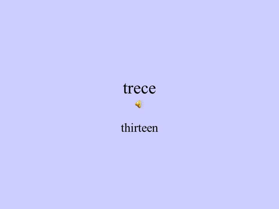 doce twelve