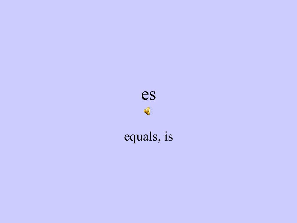son equals, are