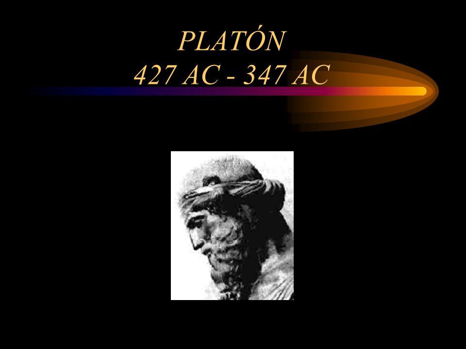 PLATÓN 427 AC - 347 AC