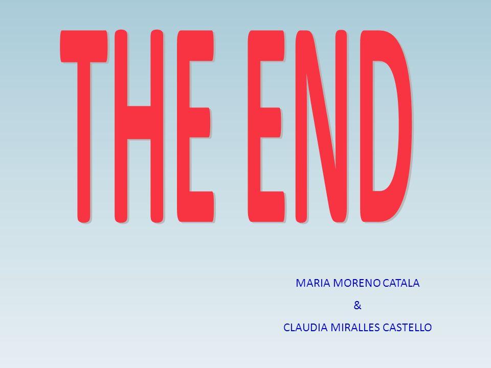 MARIA MORENO CATALA & CLAUDIA MIRALLES CASTELLO