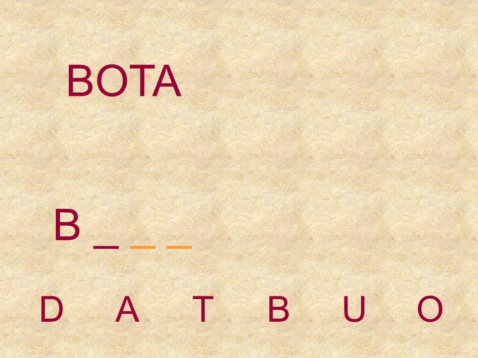 BOTA DATBUO _ _
