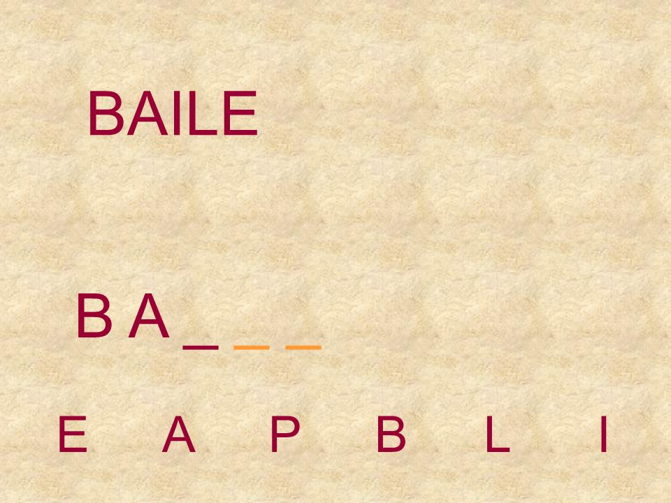 BAILE EAPBLI B _ _ _ _