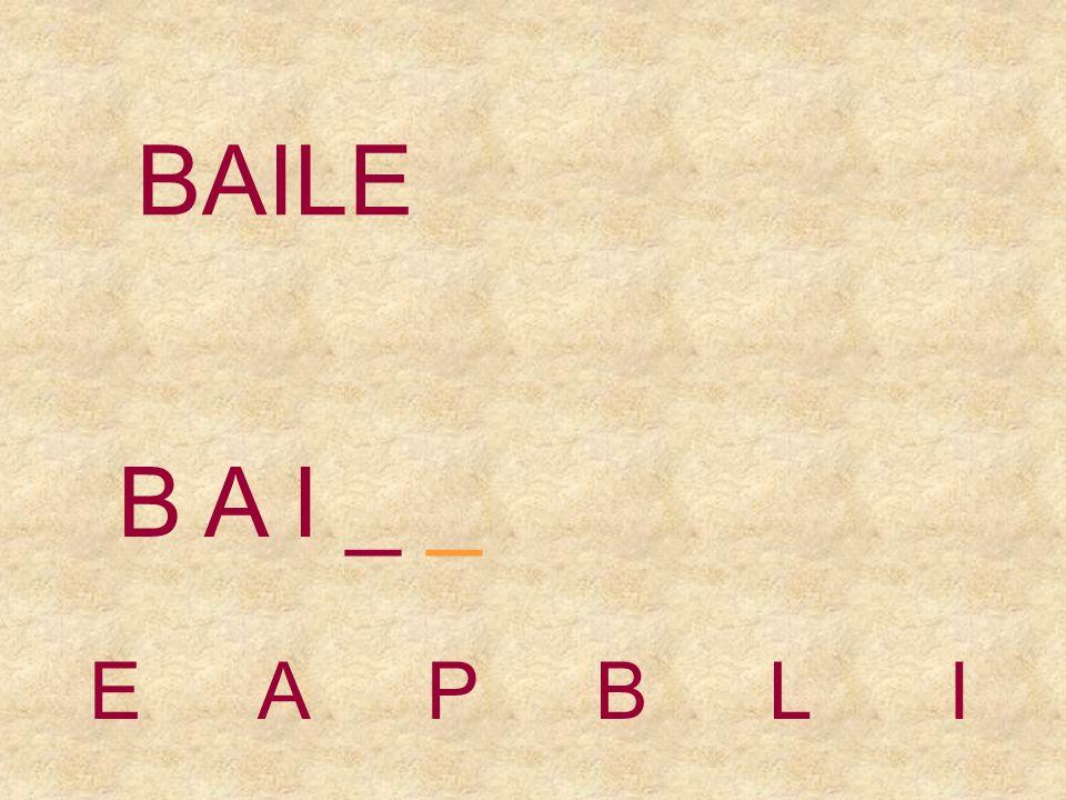 BAILE EAPBLI B A _ _ _