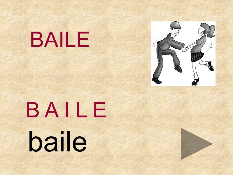 BAILE EAPBLI B A I L _