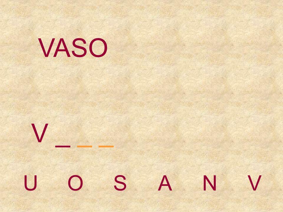 VASO UOSANV _ _