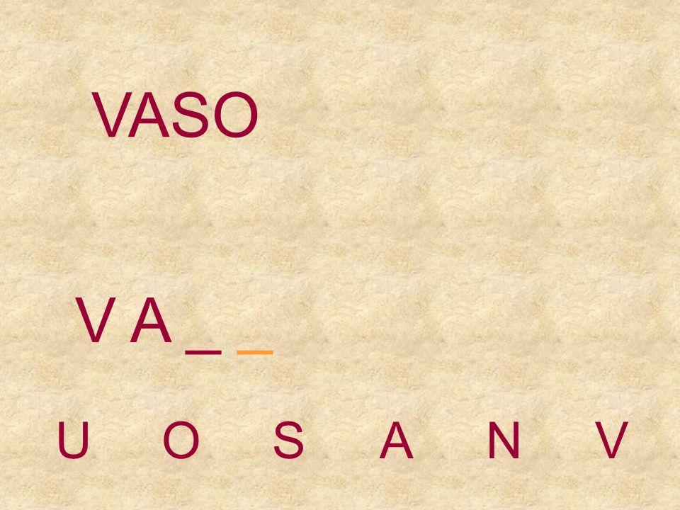 UOSANV V _ _ _ VASO