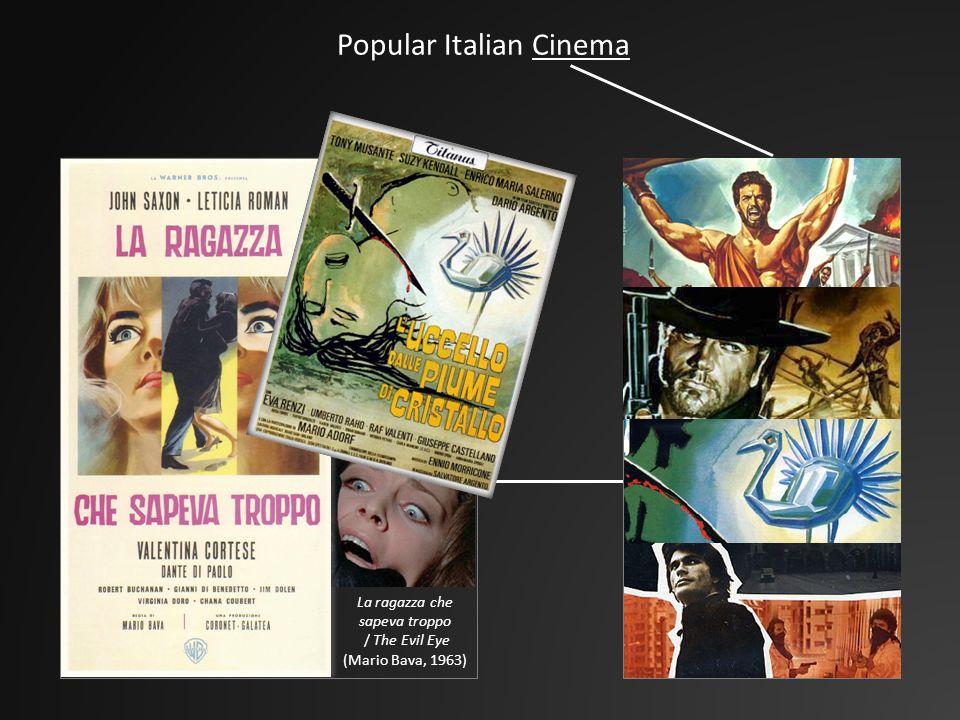 Popular Italian Cinema La ragazza che sapeva troppo / The Evil Eye (Mario Bava, 1963)