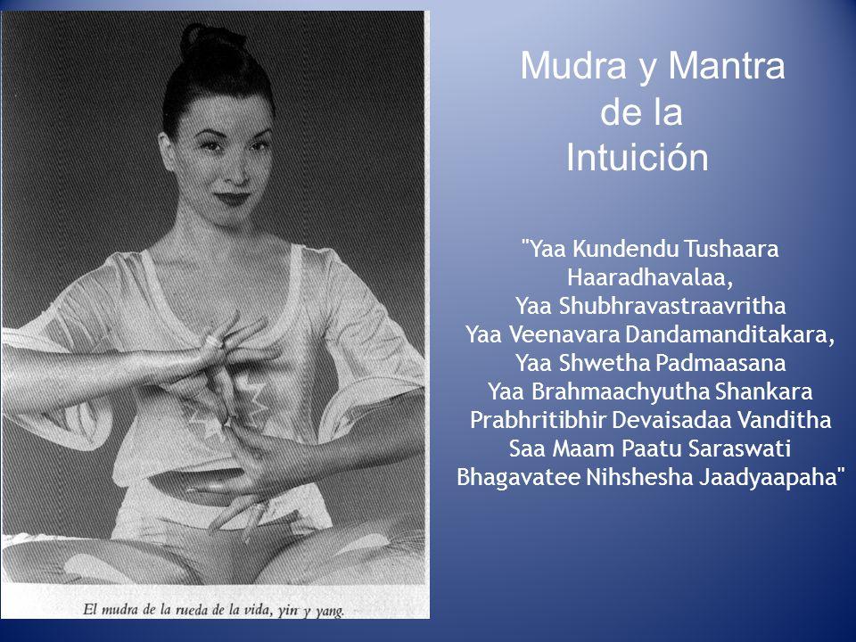 Mudra y Mantra de la Intuición