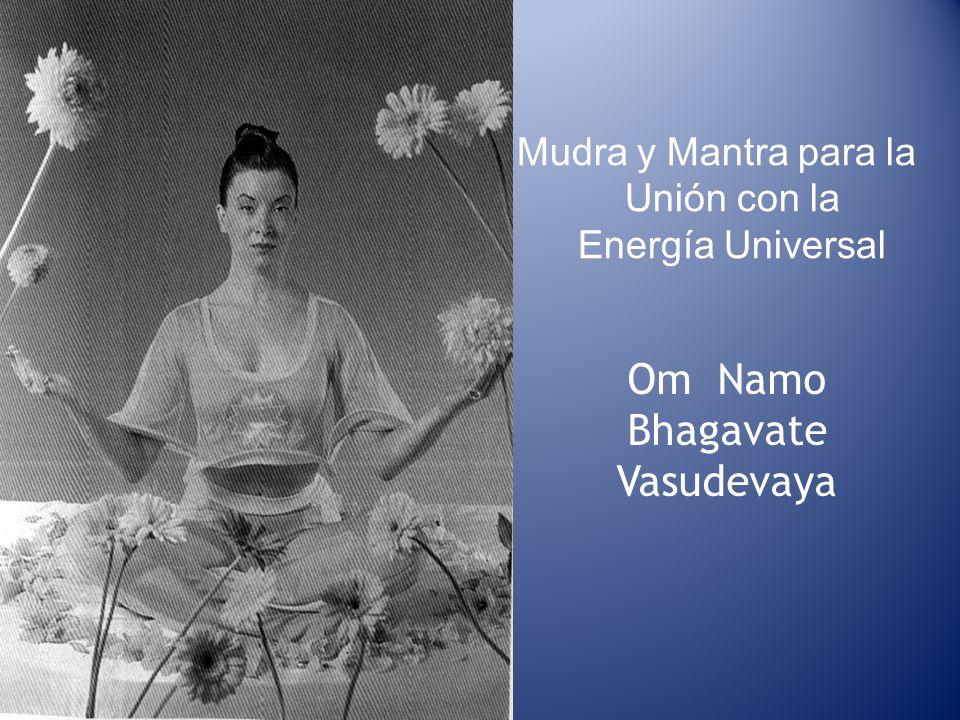 Mudra y Mantra para la Unión con la Energía Universal Om Namo Bhagavate Vasudevaya