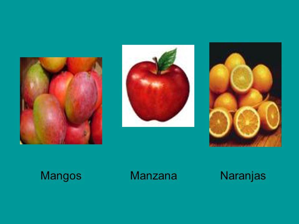 Mangos Manzana Naranjas