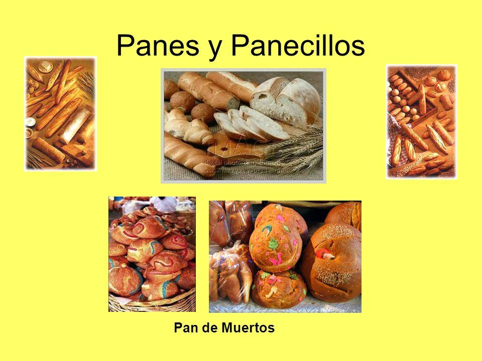 Panes y Panecillos Pan de Muertos