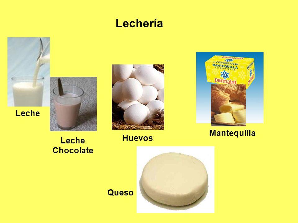 Lechería Mantequilla Huevos Leche Chocolate Leche Queso