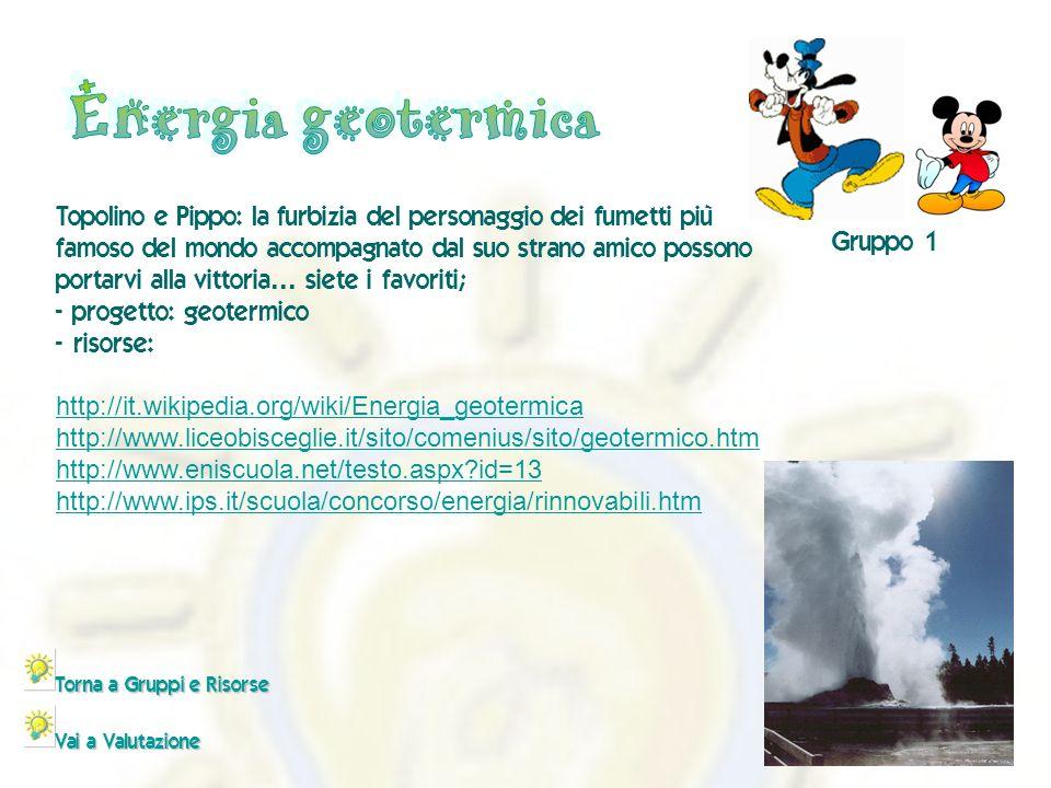 - http://it.wikipedia.org/wiki/Energia_geotermica http://www.liceobisceglie.it/sito/comenius/sito/geotermico.htm http://www.eniscuola.net/testo.aspx?id=13 http://www.ips.it/scuola/concorso/energia/rinnovabili.htm