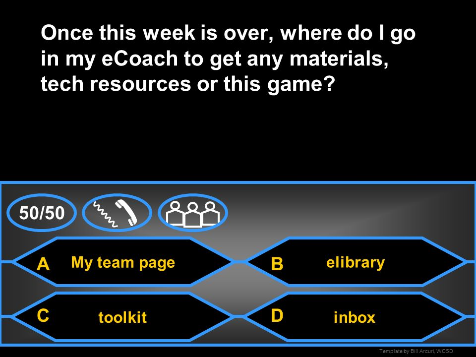 Template by Bill Arcuri, WCSD inbox If I am looking for a lesson, unit or new website and I do not want to use the elibrary where do I go in my eCoach
