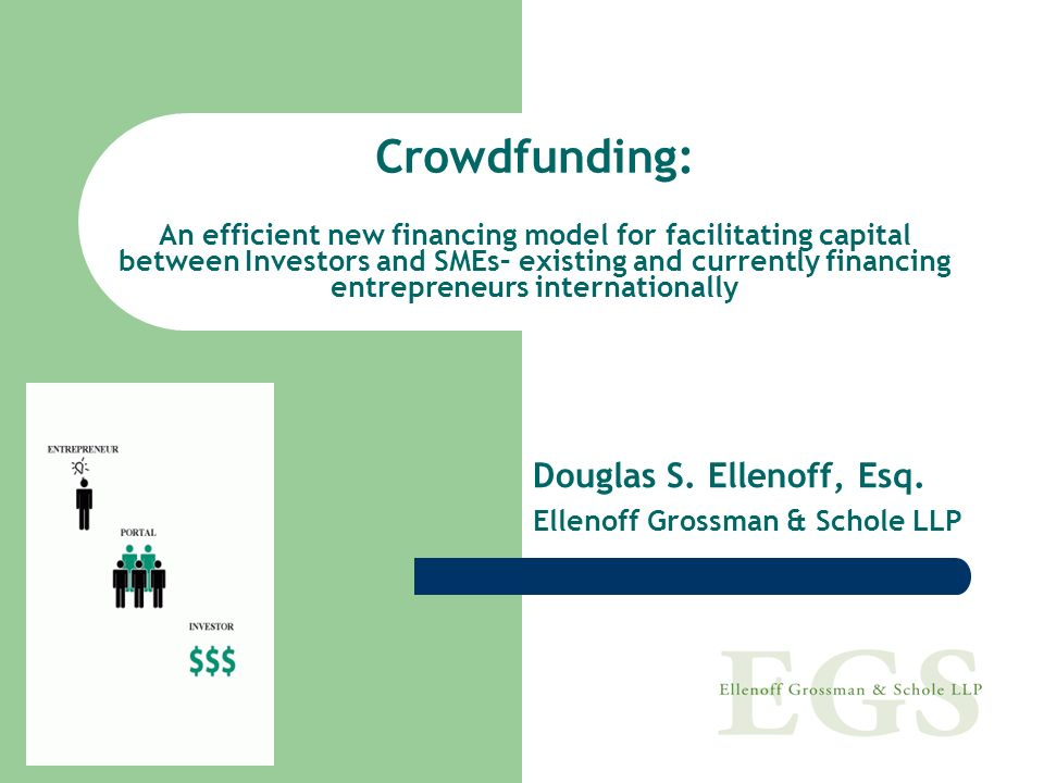 What Problem Does Crowdfunding Address Provide more capital to entrepreneurs and SMEs, create jobs and provide opportunities for non-accredited investors to invest in both community based businesses and entrepreneurial companies.