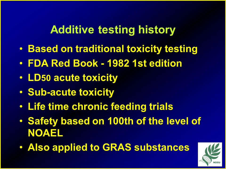 Additive Definition 201(s) any substance, the intended use of which may reasonably be expected to result directly or indirectly in its becoming a comp