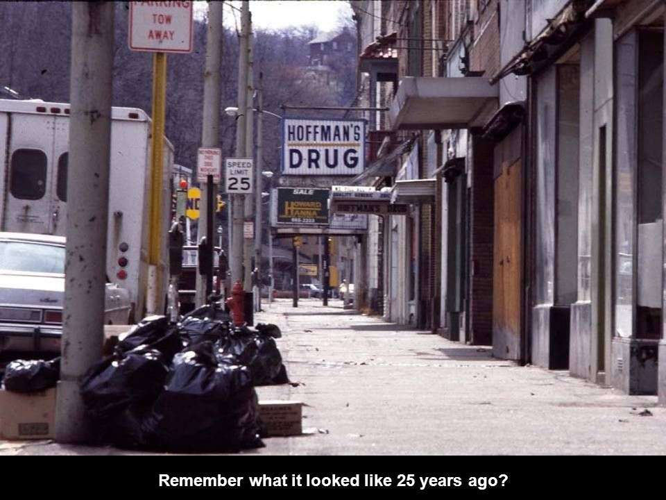 Remember what it looked like 25 years ago?