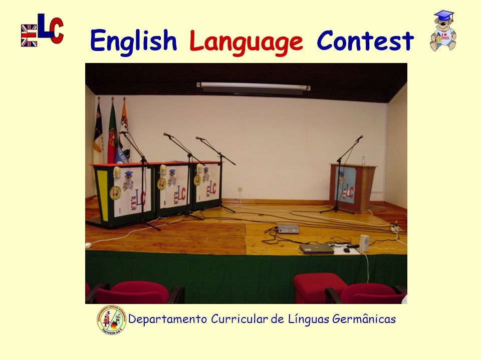 Departamento Curricular de Línguas Germânicas English Language Contest