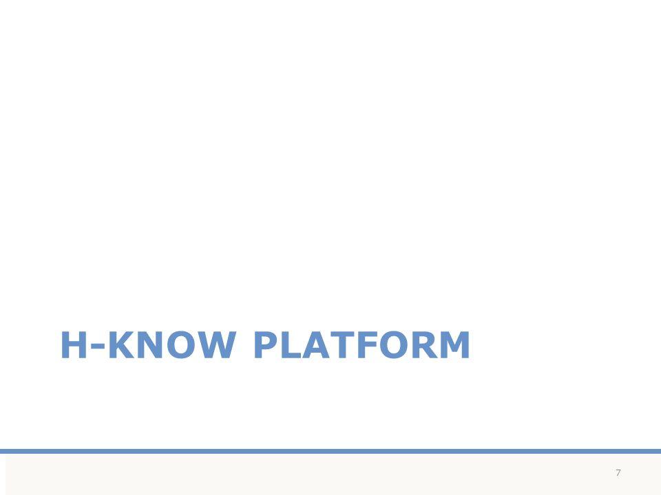 H-KNOW PLATFORM 7