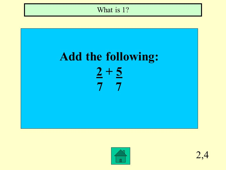 2,3 What is the perimeter of the following shape? What is 40?