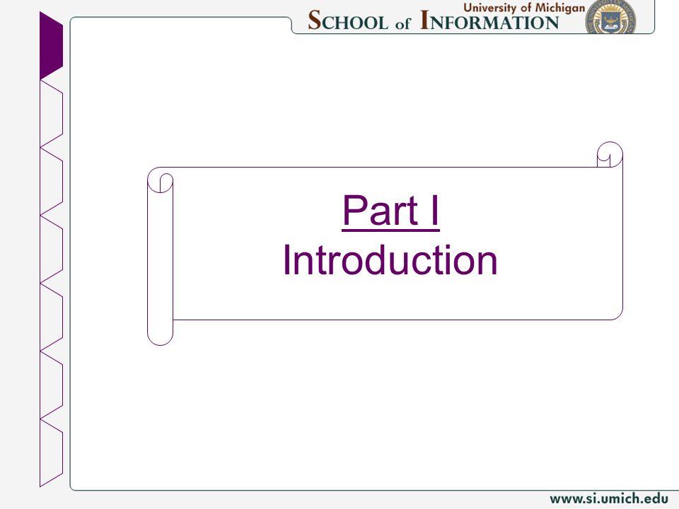 Part I Introduction