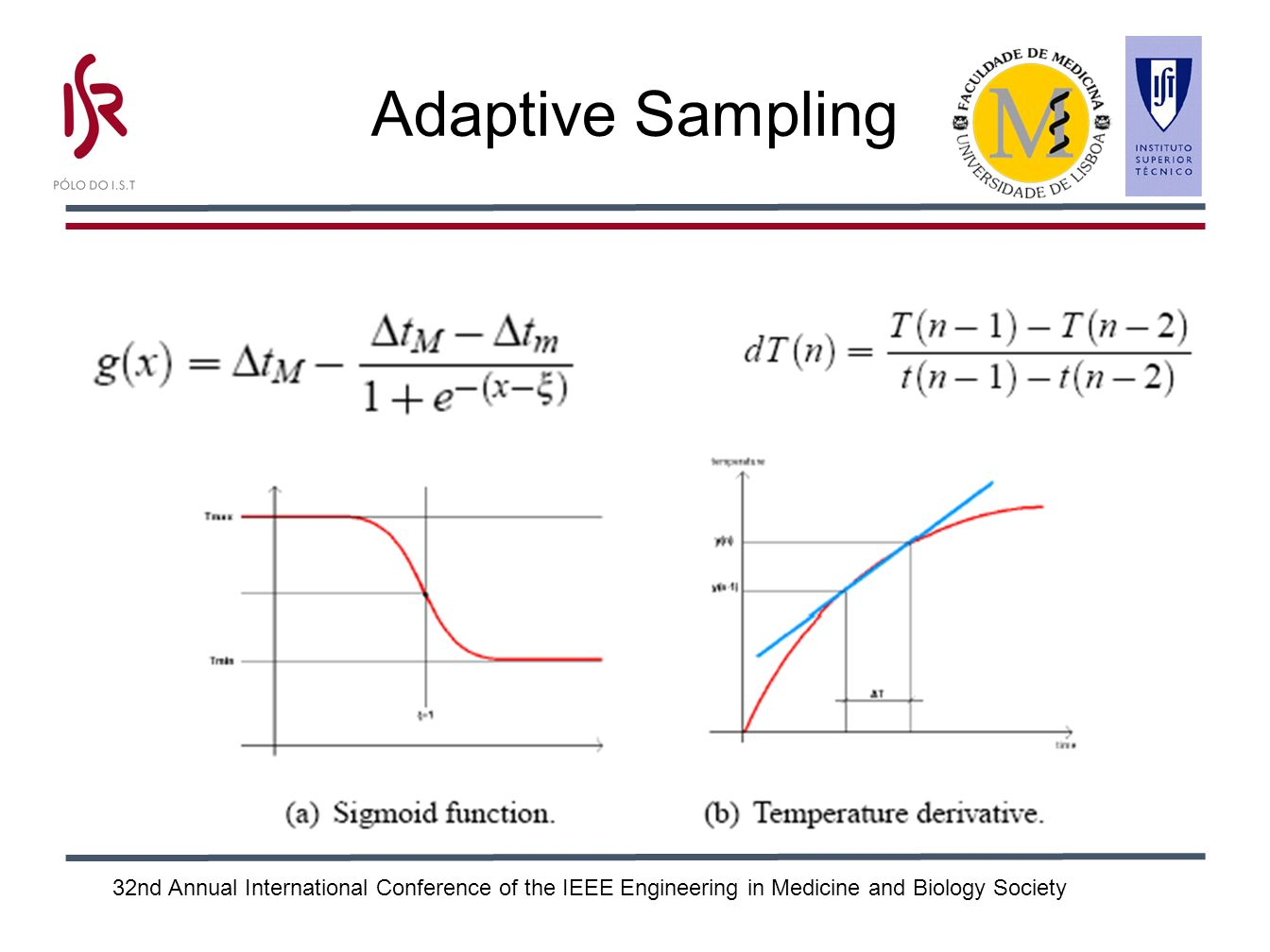 32nd Annual International Conference of the IEEE Engineering in Medicine and Biology Society Adaptive Sampling