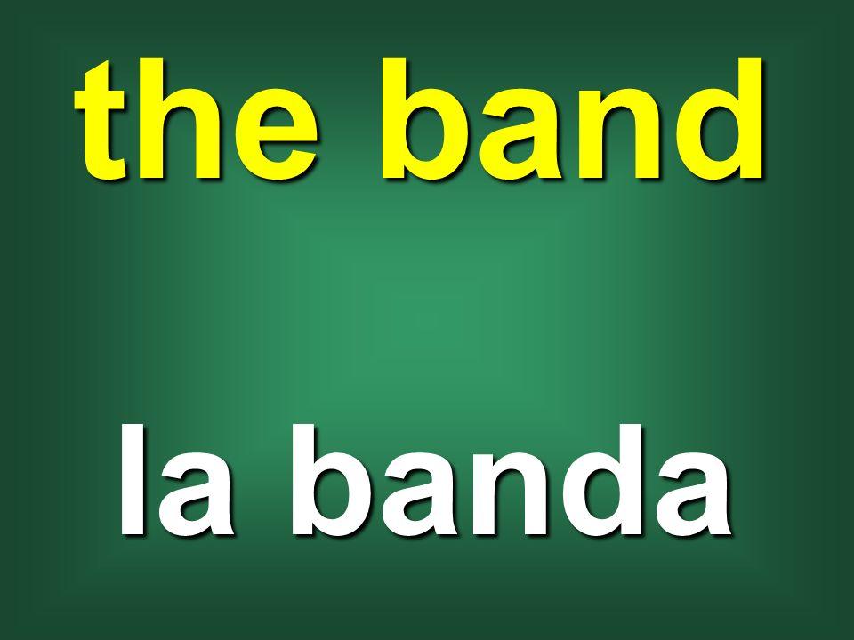 the band la banda