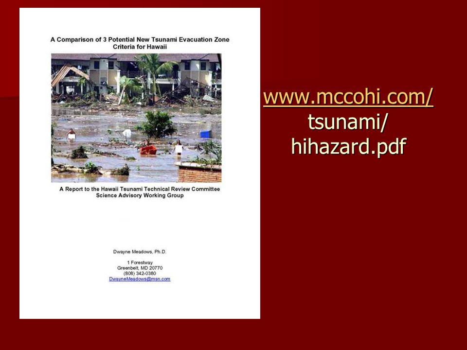www.mccohi.com/ www.mccohi.com/ tsunami/ hihazard.pdf www.mccohi.com/