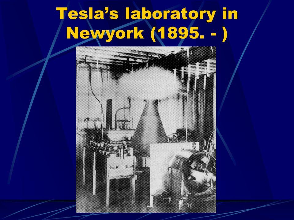 Teslas laboratory in Newyork (1895. - )