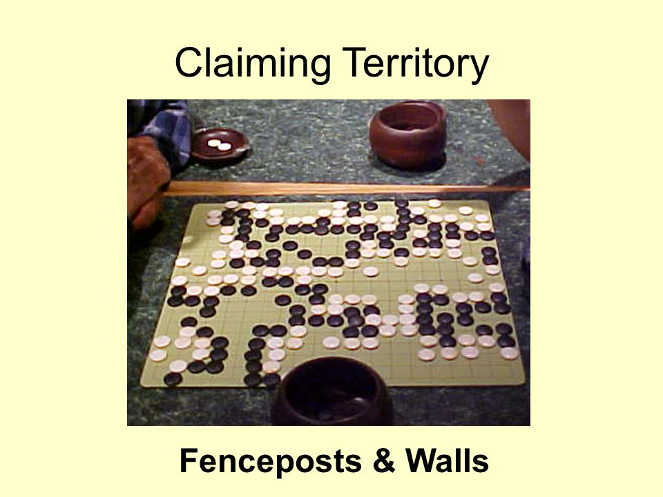 Fenceposts & Walls Claiming Territory