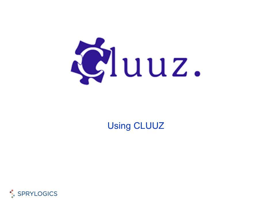 Using CLUUZ