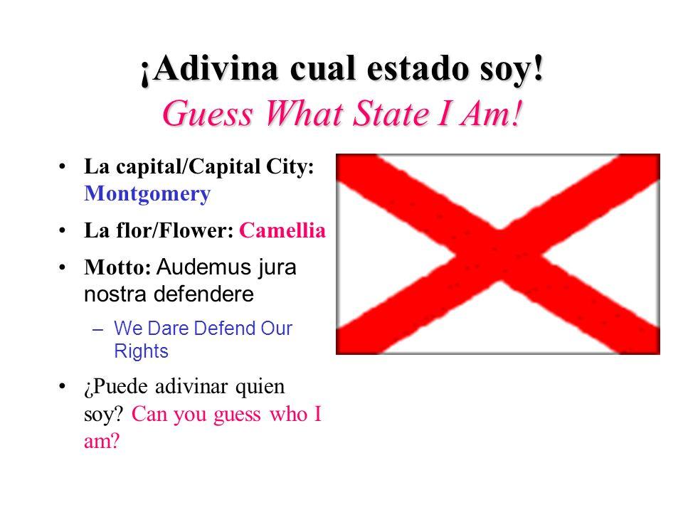 Introducción/Introduction ¡Adivina cual estado soy.
