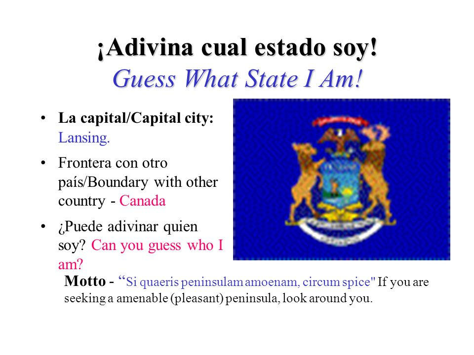 Si adivinó Massachusetts, ¡Adivinó bien! If you guessed Massachusetts, you are right!