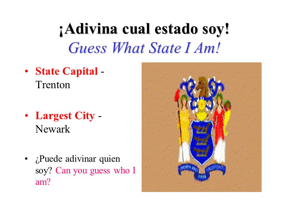 Si adivinó New Hampshire, ¡Adivinó bien! If you guessed New Hampshire, you are right!