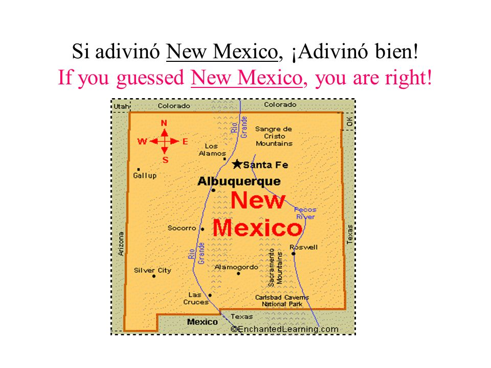 ¡Adivina cual estado soy. Guess What State I Am.